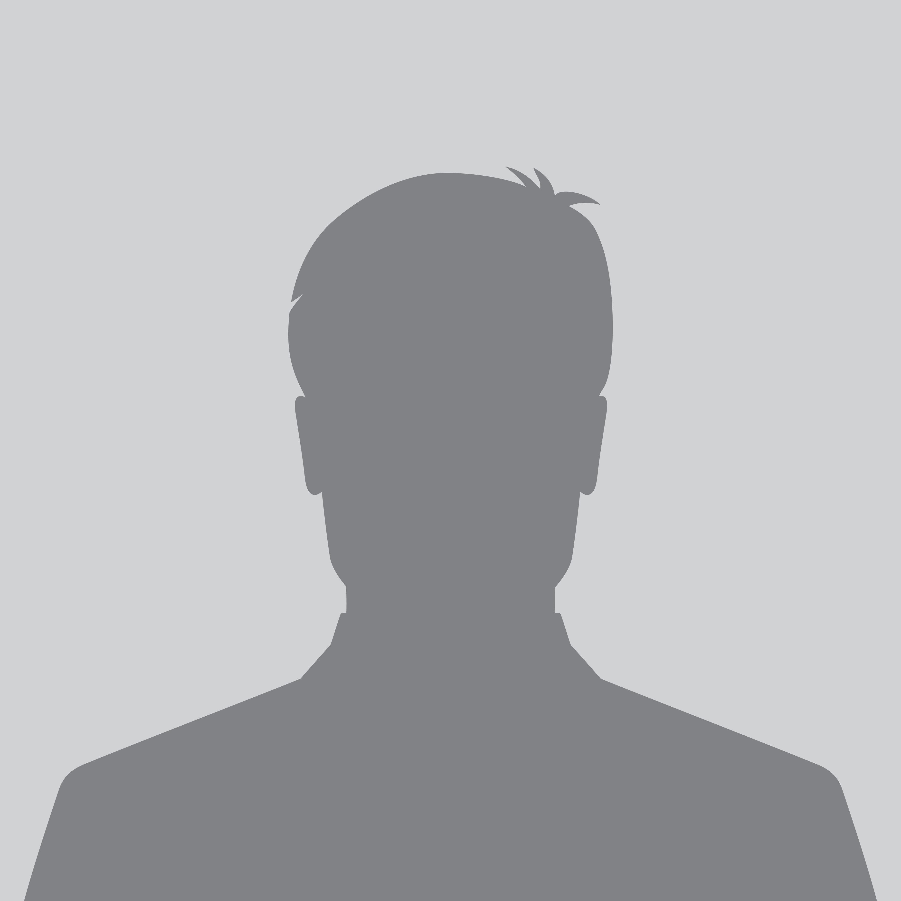 Male silhouette avatar icon, user profile picture
