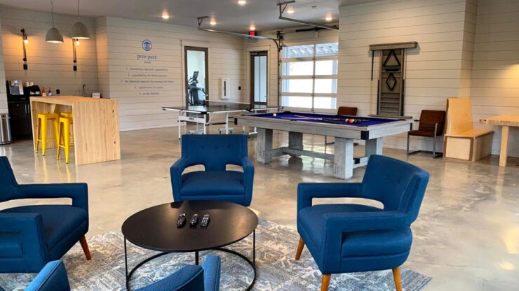 Come take a break, the 24 Hour Game Room has coffee, ping pong, pool and TV's.