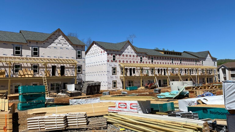 Prospect Speedwell construction on our Flat Floor Plans is well under way.
