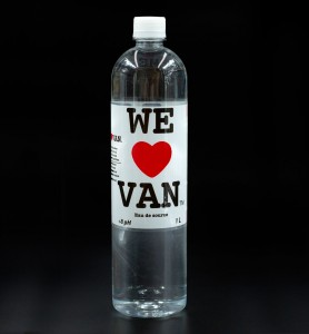 1L Water Bottle Black BG