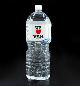 2L Water Bottle Black BG