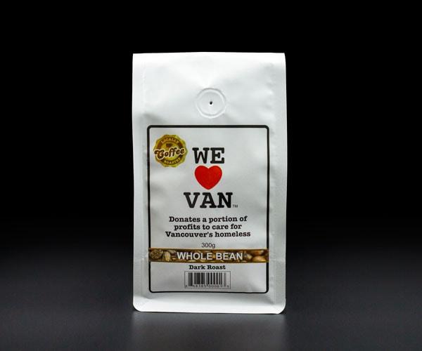 Whole Bean Coffee Dark Roast