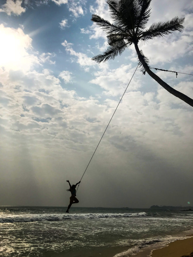 Wijaya beach swing
