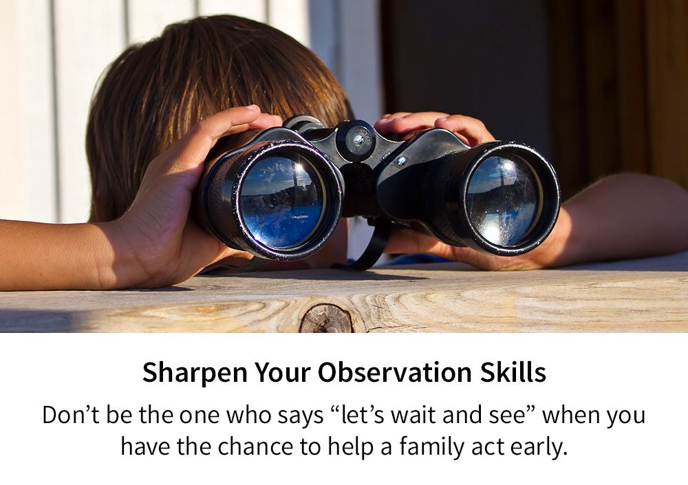 Sharpen Your Observation Skills