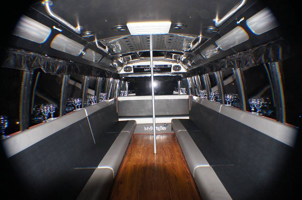Limo Style Party Bus