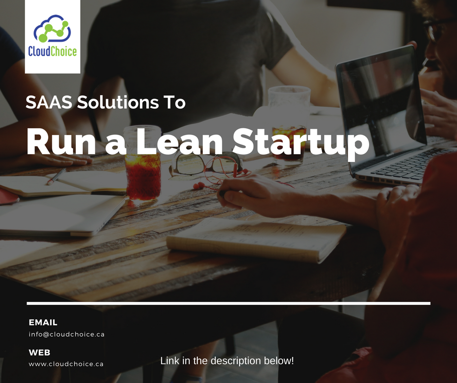 SAAS Solutions to Run a Lean Startup