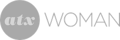 white atx woman logo