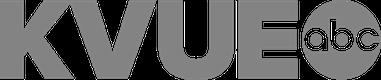 white kvue logo