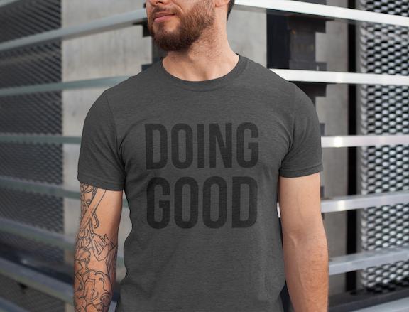 Doing Good Short-Sleeve Unisex T-Shirt