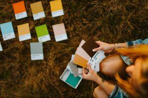 select a color pallette