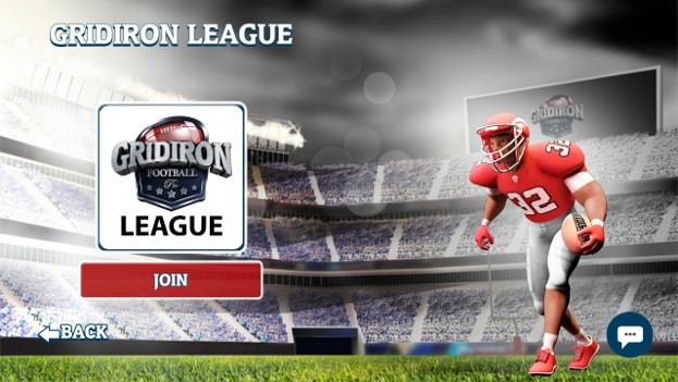 gridiron league: join the league during the off time and play when it goes live