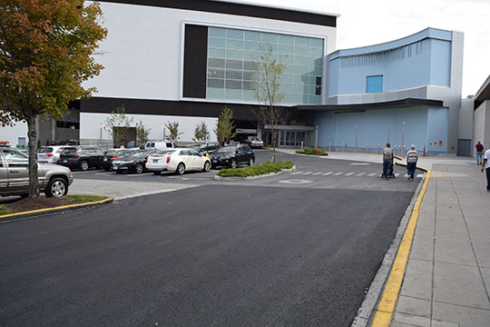 Pro-Pave, Inc.'s paving work at Montgomery Mall in Bethesda, Maryland