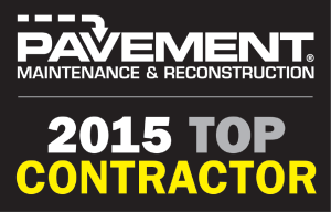 top paving contractor 2015