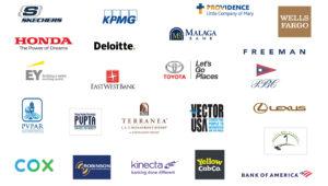 PER Corporate Sponsors logos