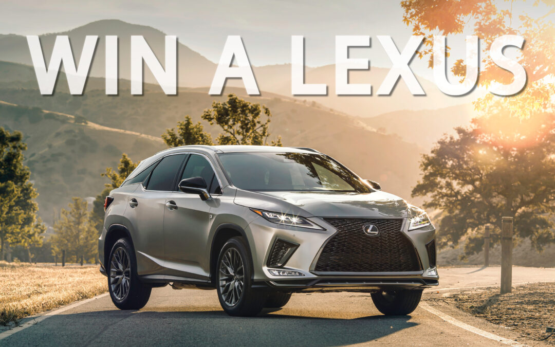Enter for a Chance to Win a Brand New 2020 Lexus RX Hybrid!