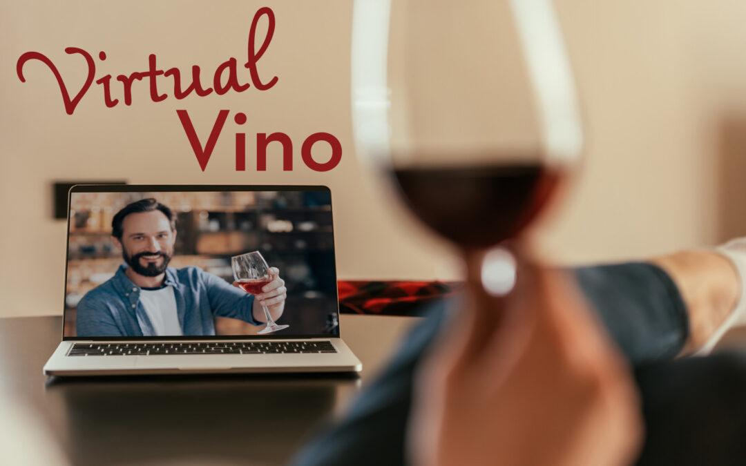 Join Us for Virtual Vino!