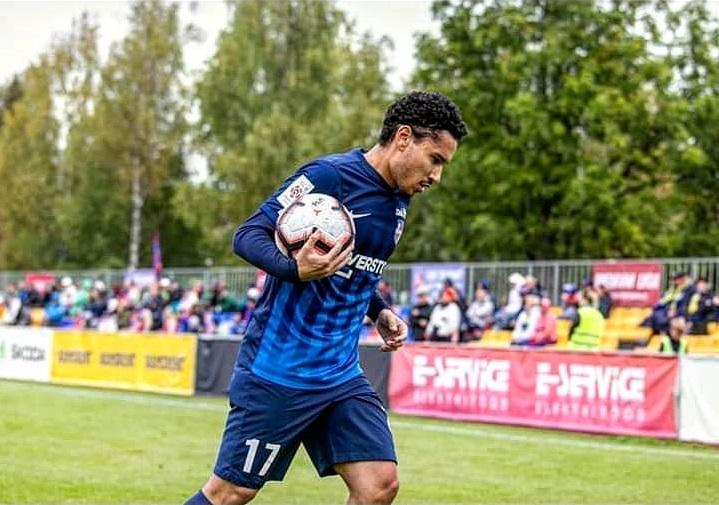bruno caprioli jogador de futebol na estonia