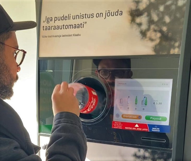 sistema de reciclagem na estônia