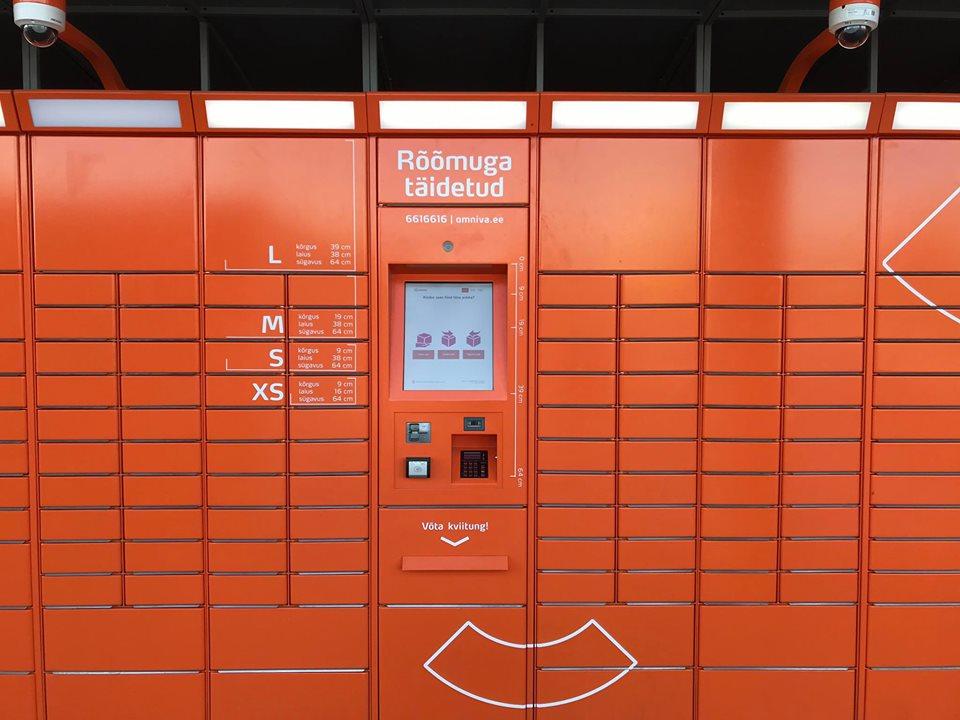 estações de correios inteligentes tallinn