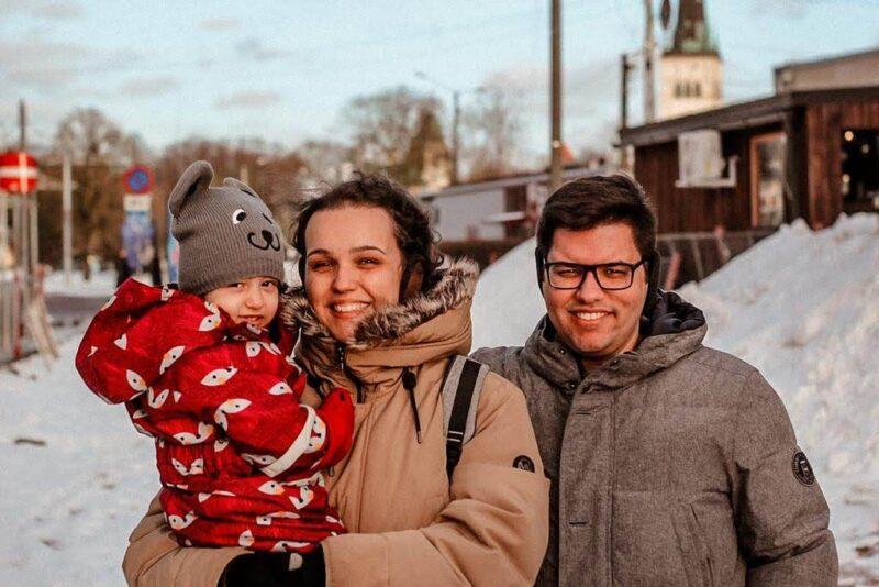 família abelha brasileiros na estonia