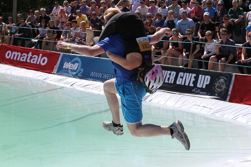 wife carrying race