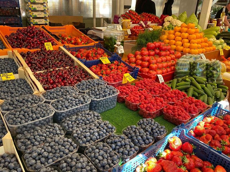 frutas e verduras nomme market