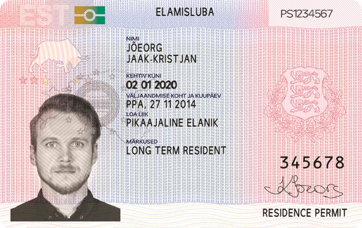 residence permit estonia
