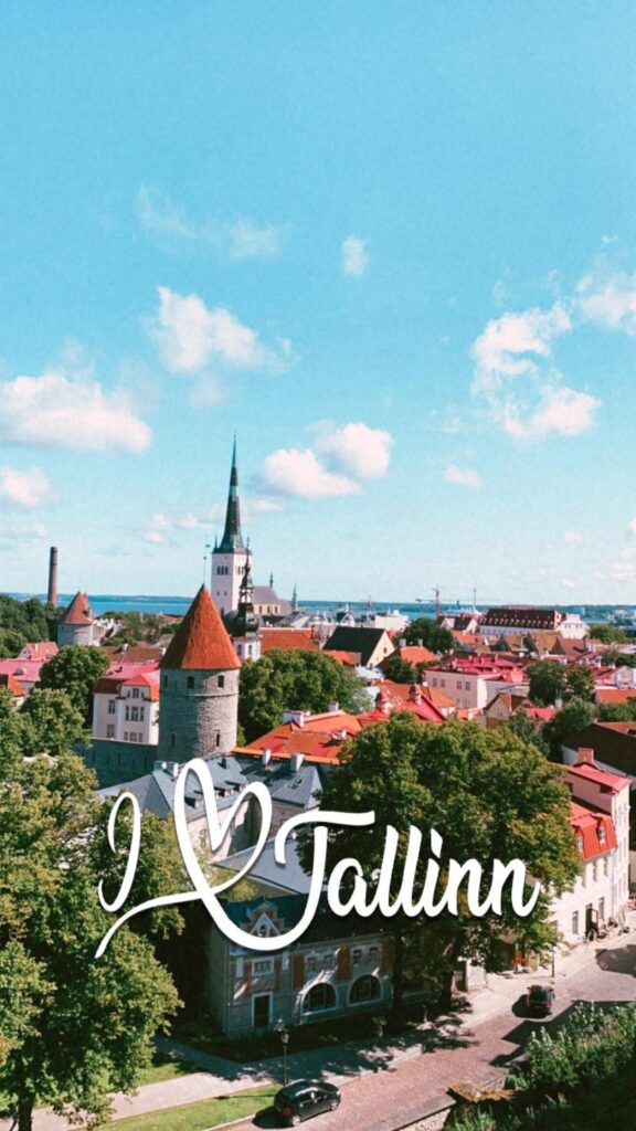 filtros no Instagram - I Love Tallinn