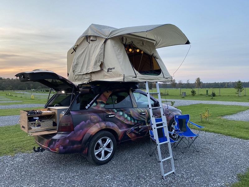 roadtrip na estonia caravan