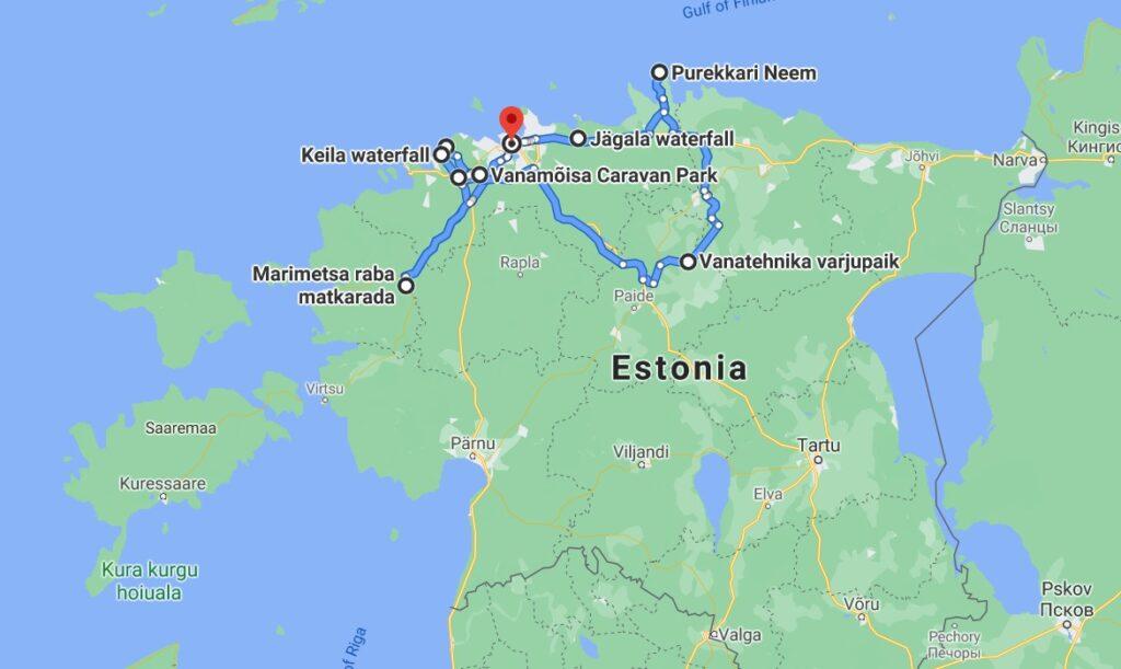 roadtrip pela estônia