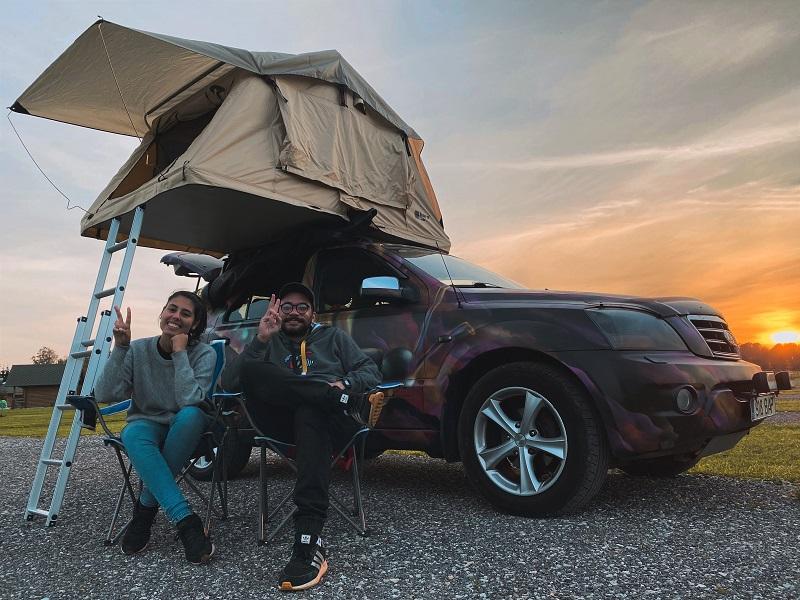 roadtrip pela Estônia caravan