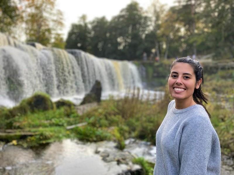 keila waterfall cachoeira na estonia
