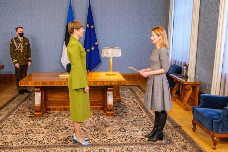 primeira-ministra estonia