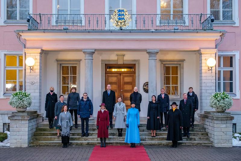 primeira ministra estônia