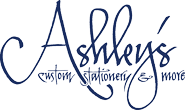 Ashley's Custom Stationery Logo