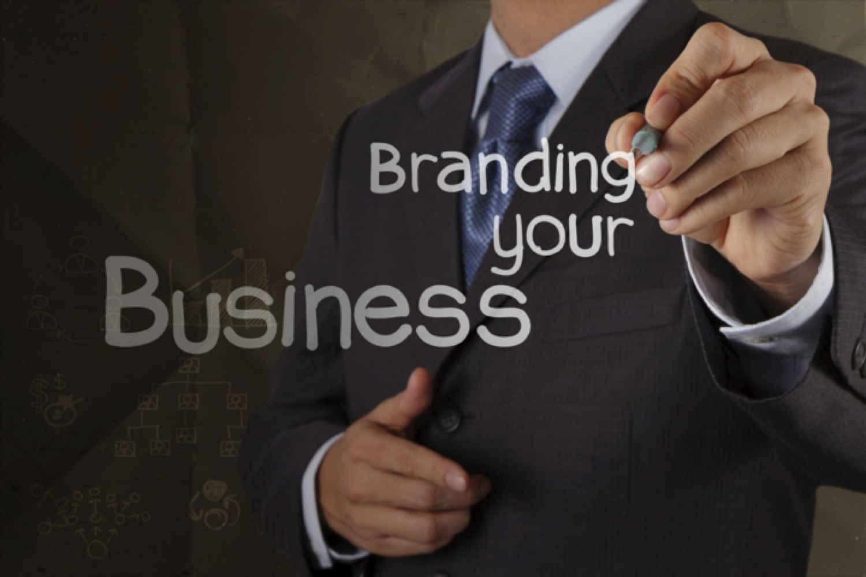 Man Writing Branding Your Business