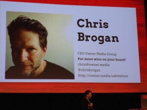 Chris Brogan at Internet Summit