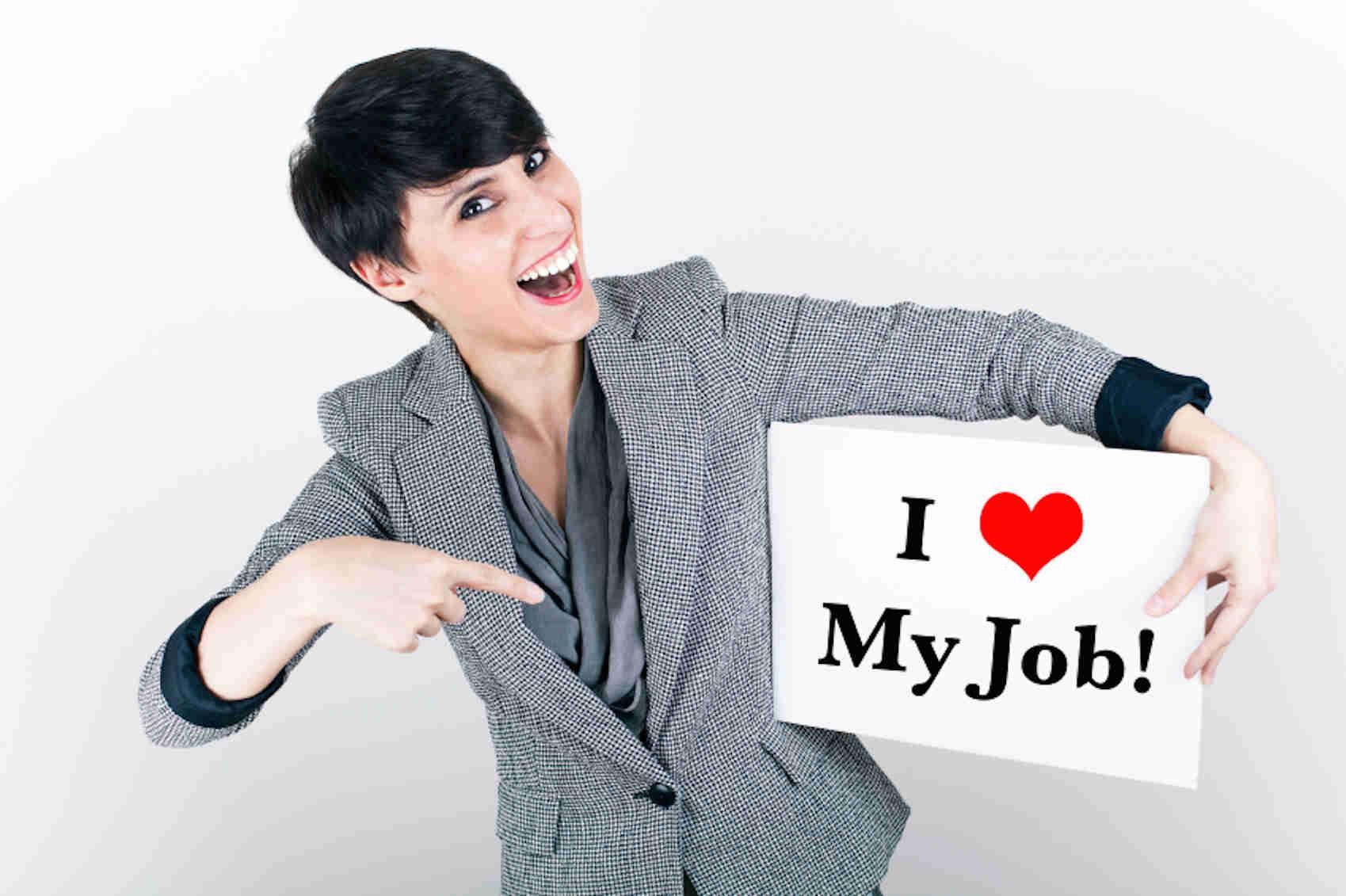 Happy Job Seeker Med