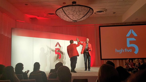 Triangle AMA Past and Present Presidents Kick off High 5 Conference
