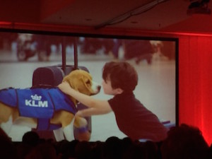 Sherlock brought the Awwwww factor to Jay Baer's presentation