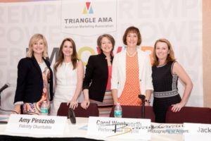 "Triangle AMA ""She Suite"" panel. Photo credit: Ricardo Barandiaran"