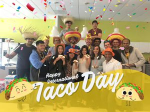 Taco Day at Egnyte