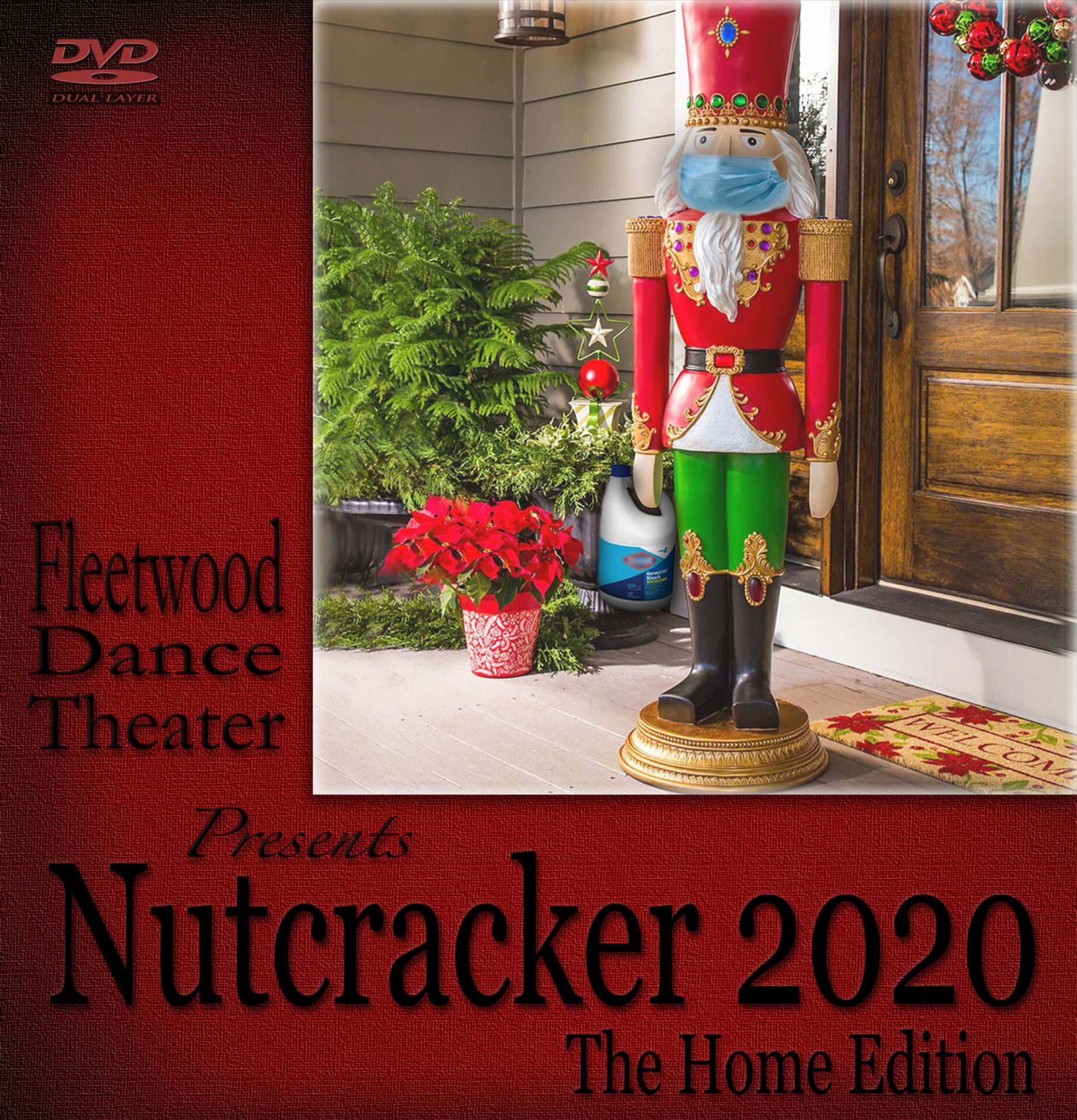 NUTCRACKER 2020 DVD Cover Art