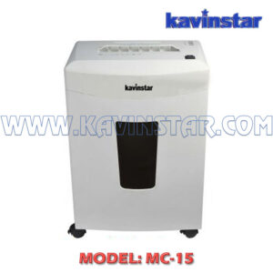 MICRO CUT PAPER SHREDDER MC 15
