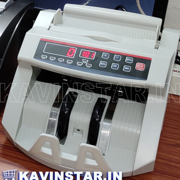 LED CURRENCY COUNTING MACHINE WITH FAKE NOTE DETECTOR