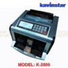 MINI CASH COUNTING MACHINE WITH FAKE NOTE DETECTOR