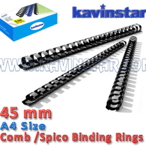 Comb bind Ring 45 mm, comb binding machine price, comb binding ring, Comb/ Spico Rings, spico binding ring, spico binding rings