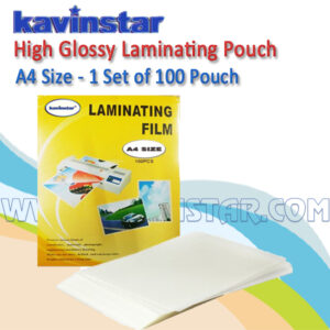 LAMINATING POUCH A4 SIZE