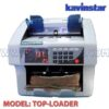 TOP LOADING NOTE COUNTING MACHINE WITH FAKE NOTE DETECTOR