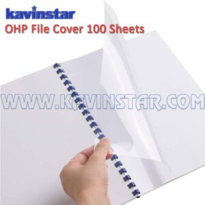 transparent binding sheet